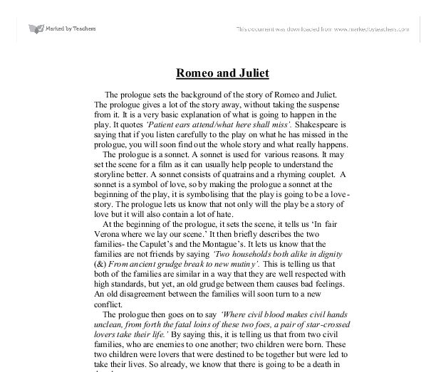 best romeo and juliet themes ideas english to  romeo and juliet prologue essay specialist s opinion