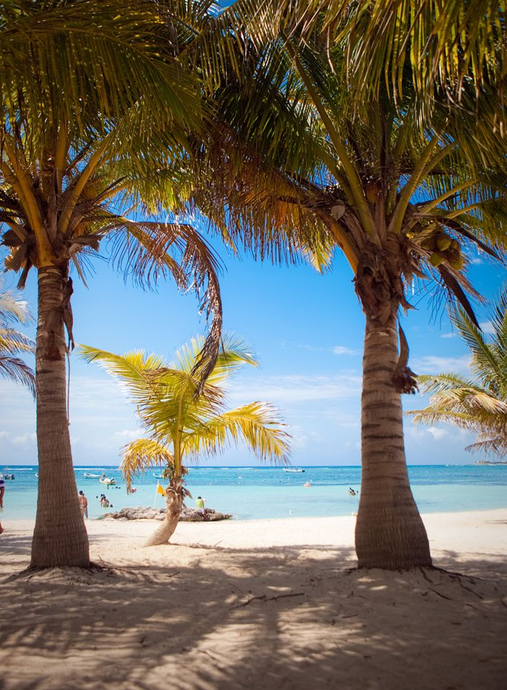 the best place in the world.....Beach, Grand Bahia Principe Akumal #beach #rivieramaya