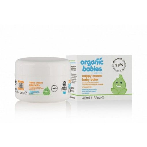 Organic Babies Nappy Cream 40 ml - www.payas.dk