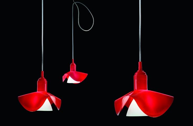 Silly-Kon Hanging Lamp by Ingo Maurer #LIghting #Ingo_Maurer