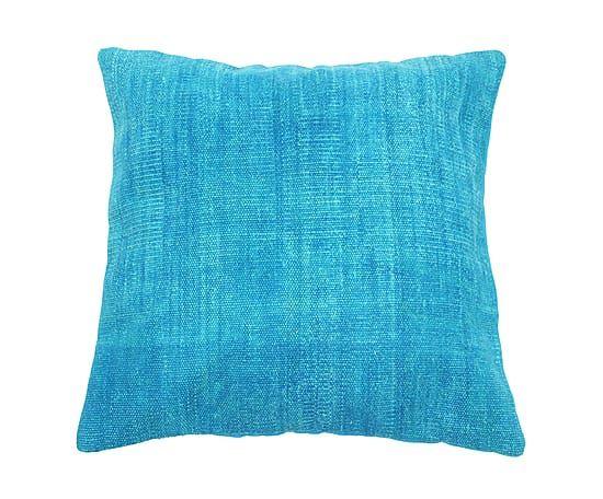 Kissen Ankara, blau/türkis, 60 x 60 cm