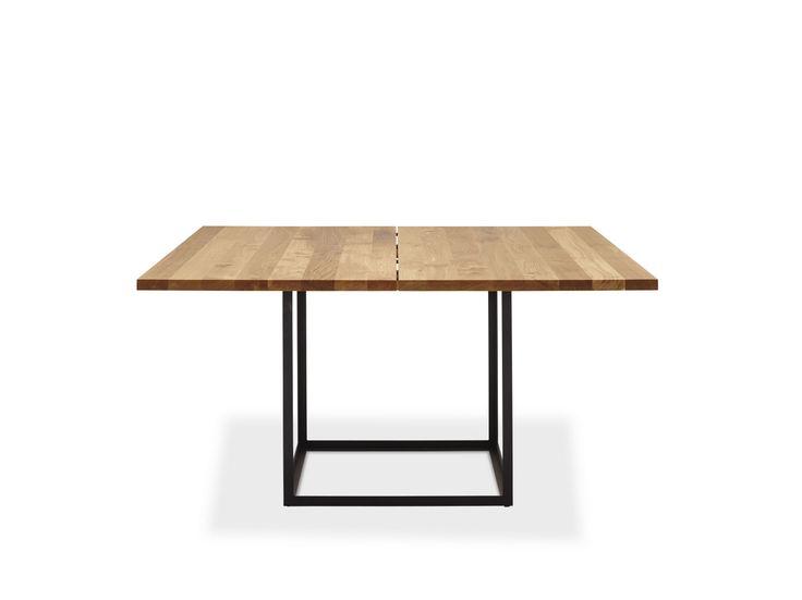 Table extensible en chêne JEWEL | Table carrée - dk3