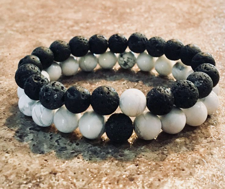 A personal favorite from my Etsy shop https://www.etsy.com/ca/listing/577035100/couples-aromatherapy-bracelets-essential