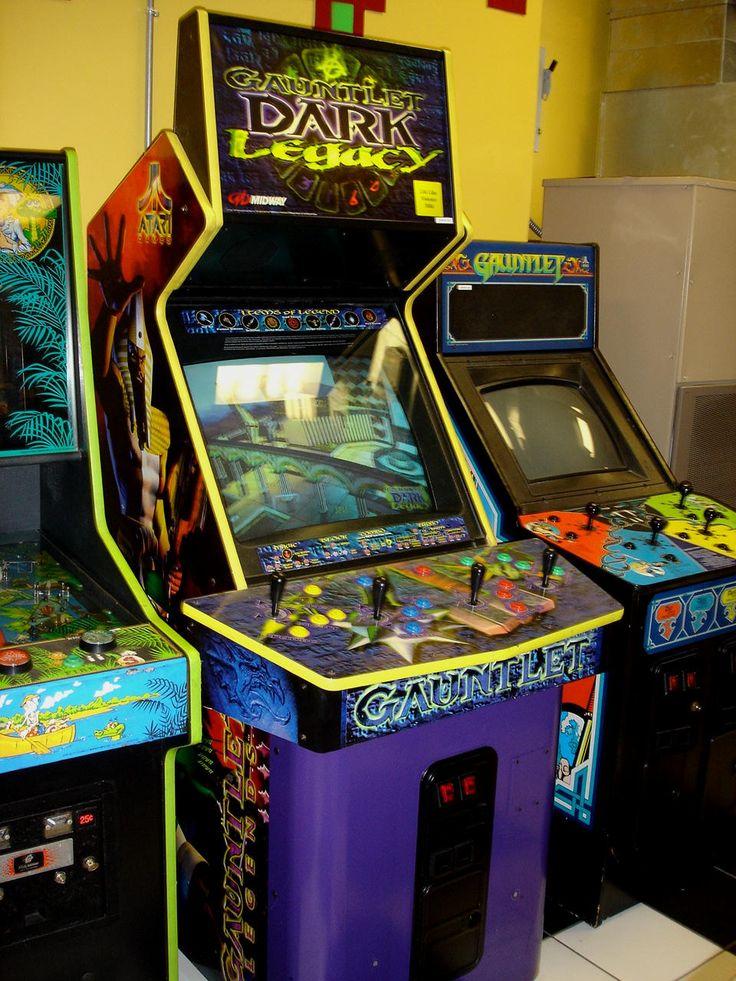 16 best Arcade images on Pinterest | Arcade machine, Video games ...