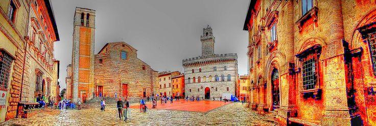 Montepulciano  - La piazza a 360°