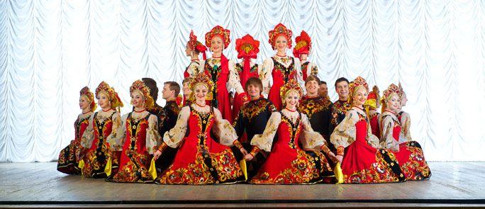 30/11 - Κρατικό Ακαδημαϊκό Θέατρο Χορού της Μόσχας Gzhel