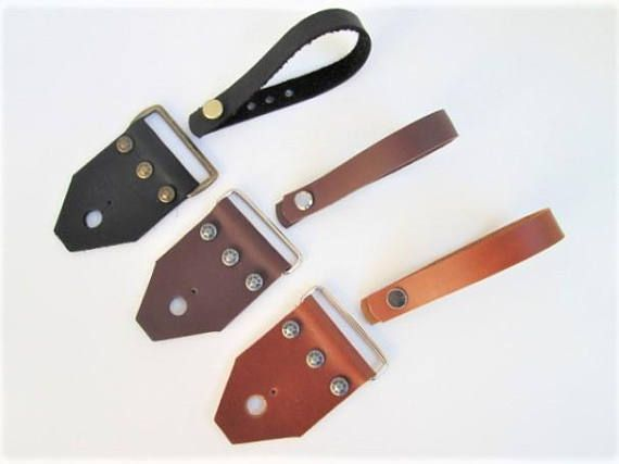 Guitar Strap Kit Combo Leather  Guitar Strap Ends and