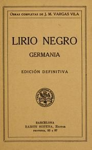 Lirio Negro  Jose Maria Vargas Vila Dust Jackets,  Dust Covers,  Dust Wrappers