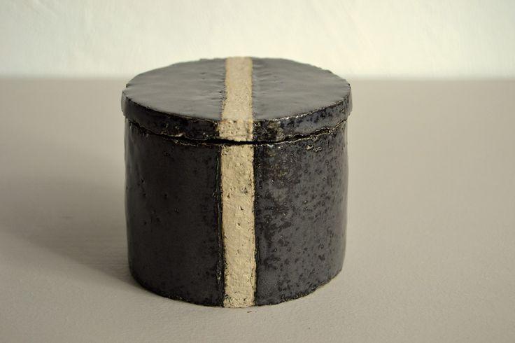 Sandrine Pagny Porcelaine Petite boîte en grès, 2014