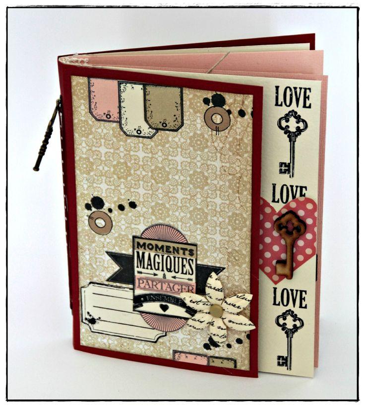 Mini album Florilèges Design pour Variations Créatives