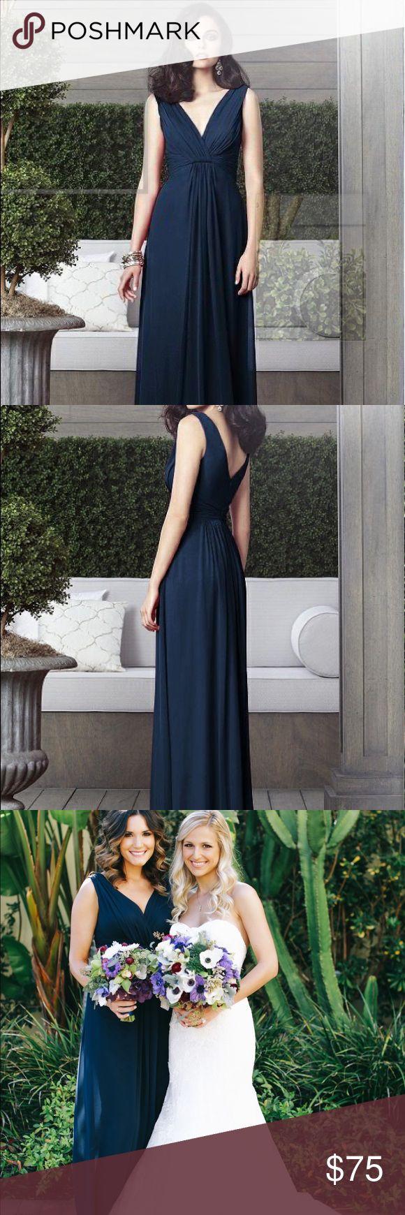 Mer enn 25 bra ideer om midnight blue bridesmaid dresses p dessy bridesmaid dress style 2907 ombrellifo Images