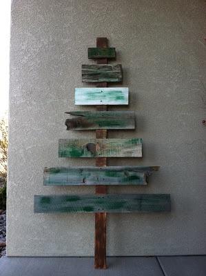 Christmas scrap wood tree, pallet Christmas tree, Christmas diy