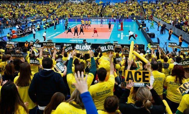 Βραζιλία-Γαλλία στο μεγάλο τελικό του World League