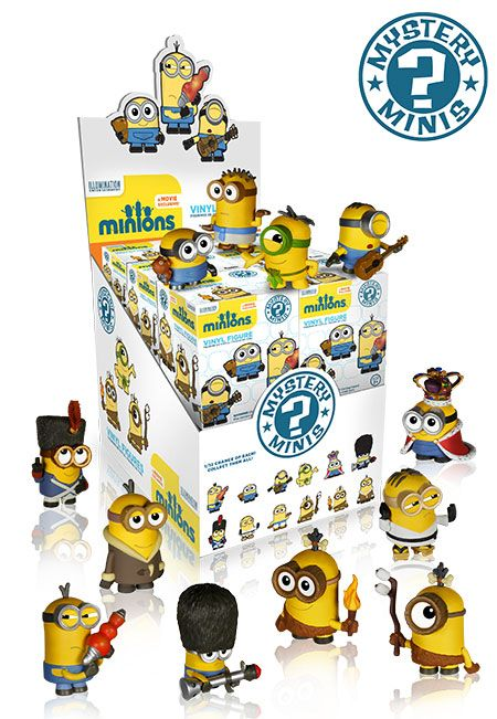 Minions Mystery Mini figures by Funko