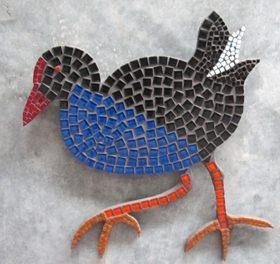 Pukeko Mosaic Art