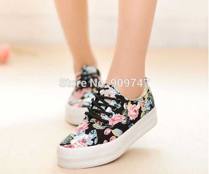 Ucuz ücretsiz kargo kadın tuval çiçek baskı kalınlığı alt platform ayakkabı ayakkabı rahat spor ayakkabı bayan tuval ayakkabı, Satın Kalite Kadın Ayakkabılar doğrudan Çin Tedarikçilerden: ücretsiz kargo kadın tuval çiçek baskı kalınlığı alt platformu koşu ayakkabıları rahat ayakkabı spor ayakkabı bayan tuva