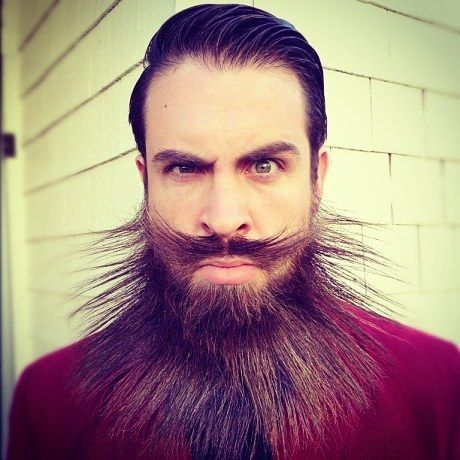 Best Crazy Beards Images On Pinterest Beard Tattoo Beards - Mr incredibeard really coolest beard ever seen
