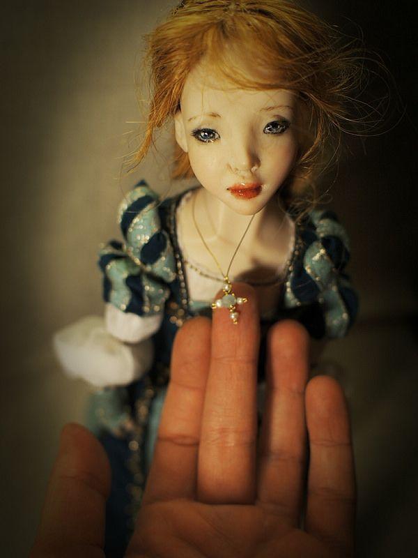 Beatrice. Handmade doll, OOAK