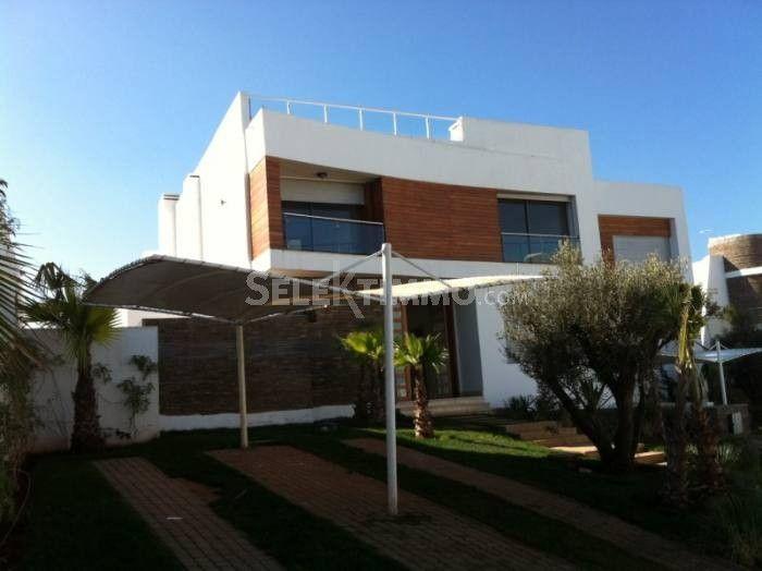 Location Villa Casablanca Ain Diab  400 m2 - 4 chambre(s)