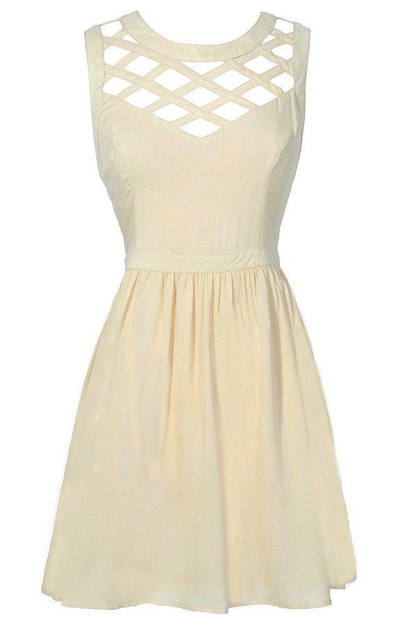 25  best ideas about Beige dresses on Pinterest | Nude beach ...