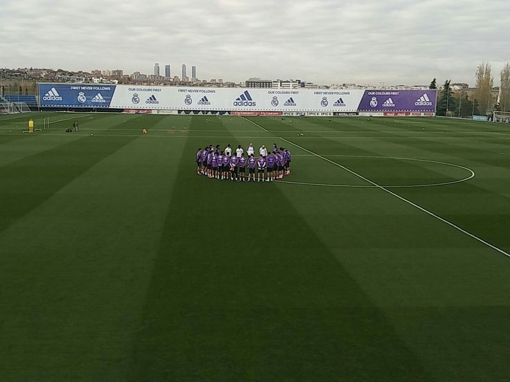 1 minute silence before training today for lost lives in Columbia.