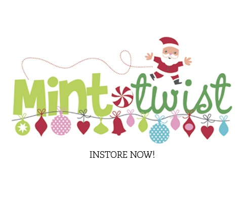 Mint Twist is just one of the beautiful #Christmas #papers I will be getting from my wholesaler #Kaisercraft