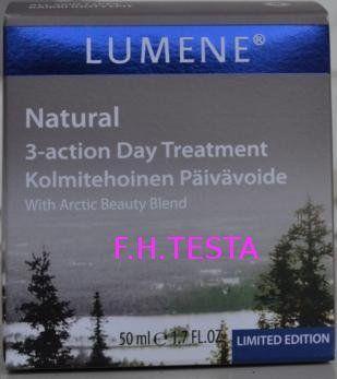Lumene Natural 3-action Day Treatment krem na dzień Drogeria Internetowa Kosmeteria Testa