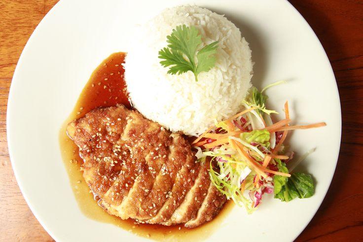 Rice and pork chop (City)