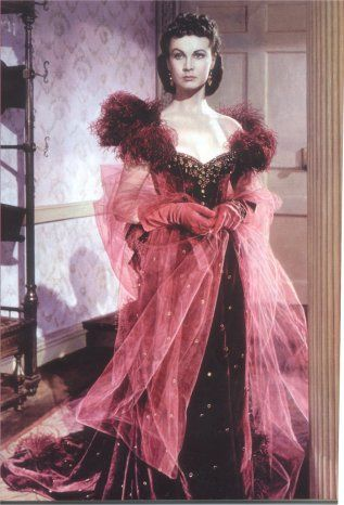 Scarlett Ohara , Vivien Leigh & The Costumes of Gone with the Wind