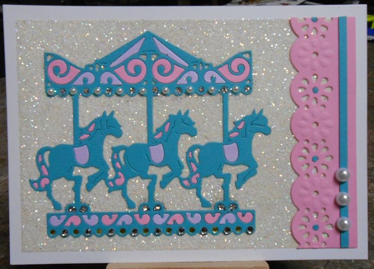 Image result for tattered lace carousel