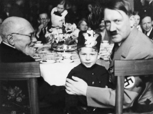 Ya Donald, someday you might be der fuehrer...Unt I like your hat.
