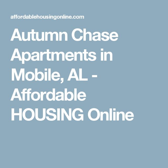 Autumn Chase Apartments in Mobile, AL - Affordable HOUSING Online