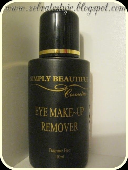 Zebra Testuje: Simply beautiful eye make-up remover