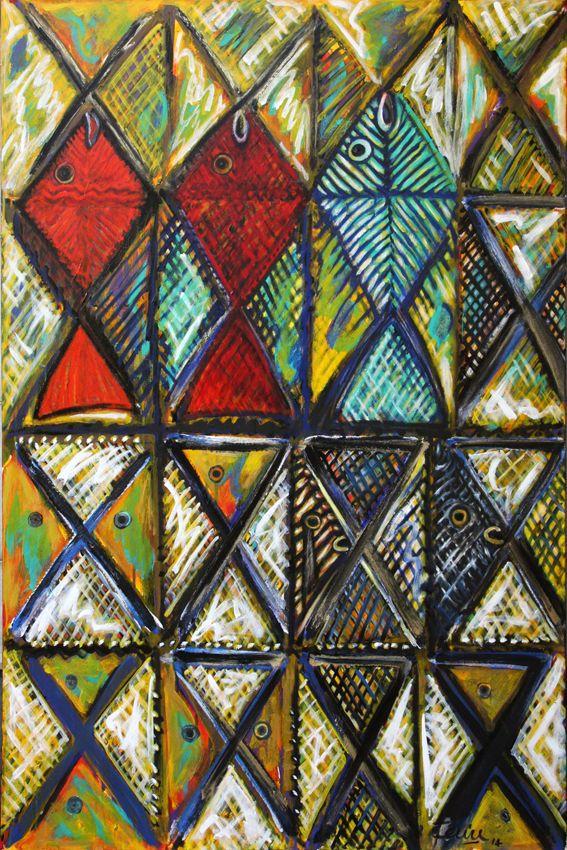 Mea Lofie, Acrylic on canvas, 2104
