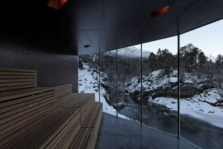 River Sauna,Courtesy of Jensen & Skodvin Architects