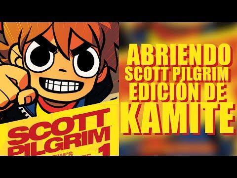 Abriendo Scott Pilgrim Comic en Español Edcion de coleccionista Kamite - YouTube