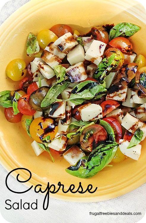 Caprese Salad- easy summer salad