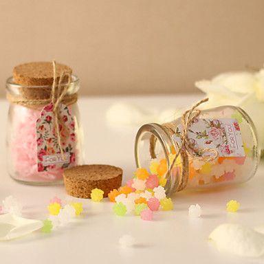 Ποιμαντική Style Rose Βάζα Candy Γάμος Glass (Περισσότερα χρώματα)-σύνολο 12 – EUR € 9.08