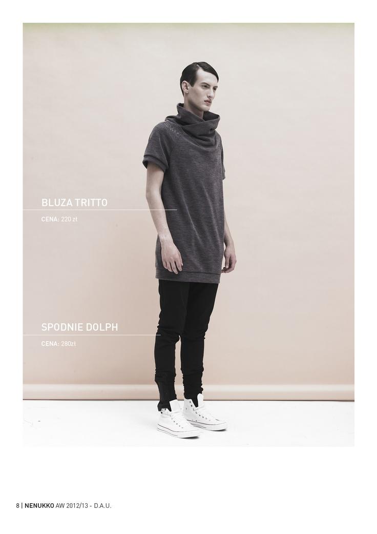 TRITTO blouse DOLPH trousers D.A.U. collection   http://nenukko.com/shop/
