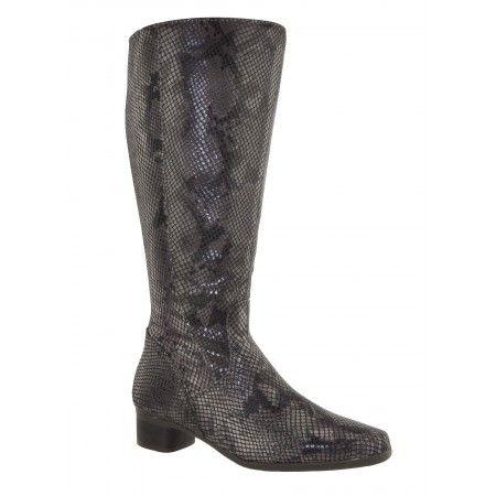 Bottes Femme JJ Footwear Lugano Espresso Taille de mollet M/L