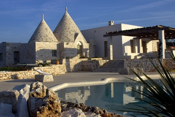 Trulli unique Italian houses, Alberobello