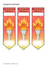 Olympics bookmarks