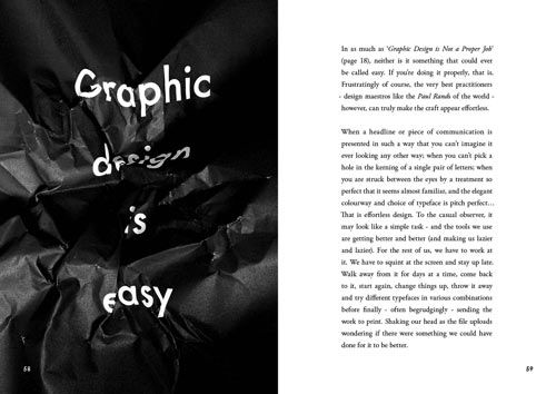 Popular Lies About Graphic Design, book by Craig Ward