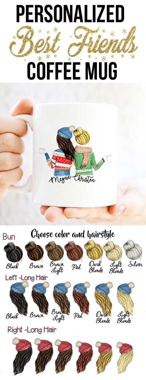 Hold onto your prized status with his Christmas gift for best friend Personalized Your Coffee Mug Now Easy & Fast ! She will love him Our unique Friendship Coffee Mug... Is the perfect personalized gift for your best friend, She'll obsess over this cute surprise. #ChristmasDIYgifts