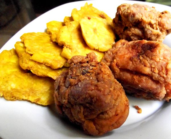 plantain fritters recipe caribbean chicken