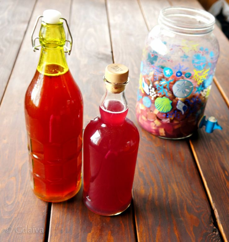 Fermented rhubarb soda is full of probiotics, vitamin C, enzymes and its super delicious. Simply add chopped rhubarb to a jar, with a couple tablespoons of sugar or honey and fill with water. You can learn more at my nutritional bootcamps