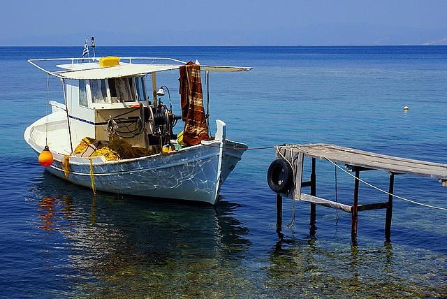 Greek blue by Makednos, via Flickr