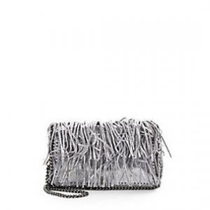 22% off Stella McCartney - Shoulder Bag Falabella Fringe Platinum - $839.99