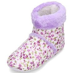#Banggood Floral Lovely Home Shoes Indoor Slippers Winter Foot Warmer (947393) #SuperDeals