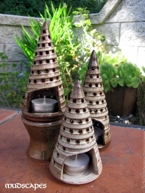 Holiday tree lumens poterie pinterest poterie - Idee de poterie ...